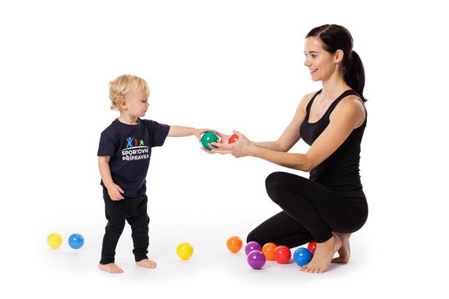 Sportovní přípravka pro děti s rodiči ve věku 1 - 3 roky