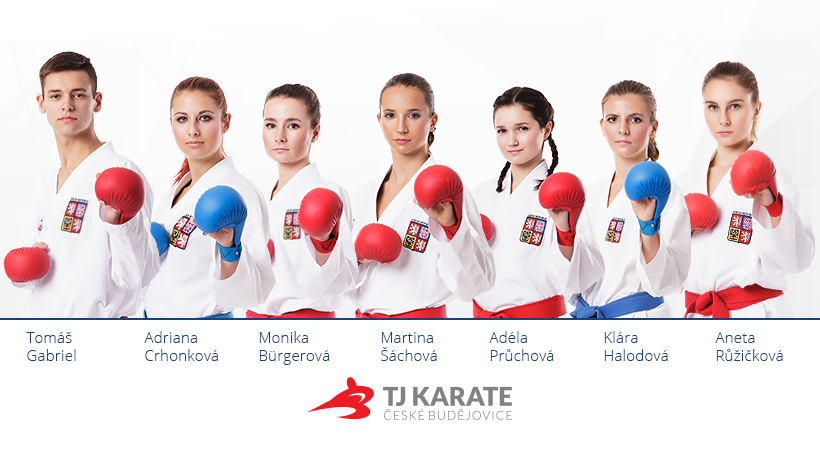 Reprezentatni TJ Karate České Budějovice