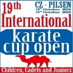 International karate cup Plzeň 2018 - info